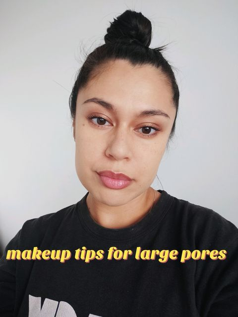 MAKEUP TIPS FOR LARGE PORES