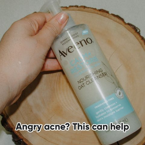 A cleanser that can soothe redness