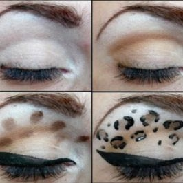 Go Wild with Animal-print Eyeshadow Makeup : A Step-By-Step tutorial !