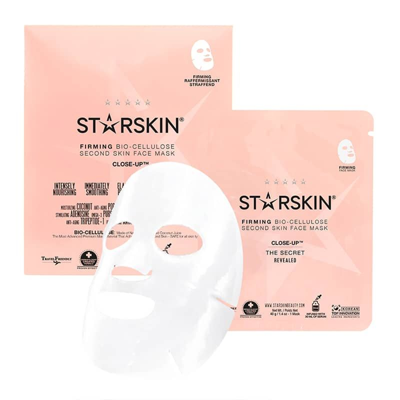 Close-Up Coconut Bio-Cellulose Second Skin Firming Face Mask