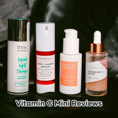 4 VITAMIN C FAVES 💕 Mini Reviews