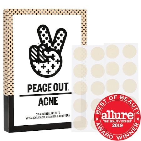 Acne Healing Dots, PEACE OUT, cherie