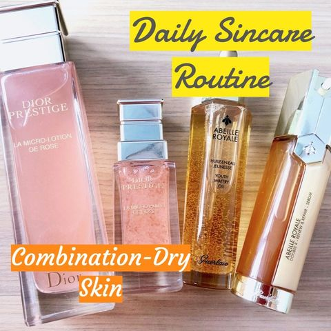 Combo-dry skin holy grails!