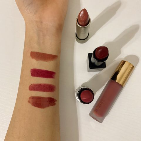 All time favorite lipstick swatches