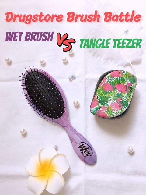 Wetbrush VS. Tangle Teezer, both $14, Guess Which Wins!👩🦰👩🦳👩