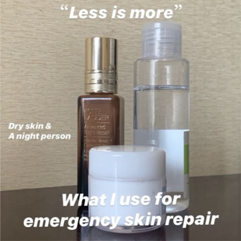 What I use for emergency skin repair?