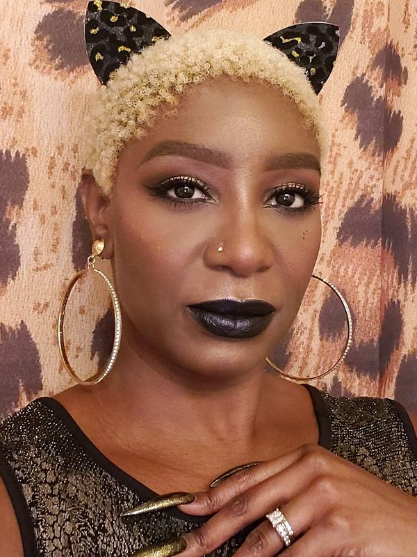 Dark and Sultry Glam Look   Cherie