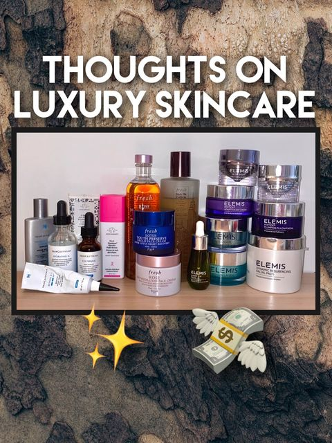 My Thoughts on LUXURY SKINCARE 💸✨ Worth it? p.2