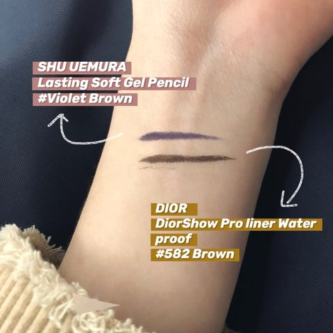 Yes, eyeliner can be creative too!