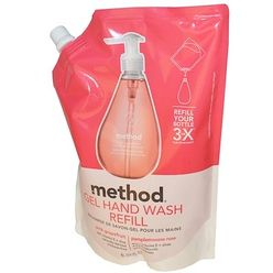 Gel Hand Wash Refill, Pink Grapefruit