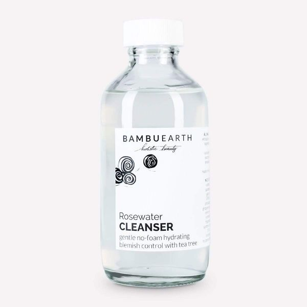 Rosewater Cleanser , BAMBU EARTH, cherie