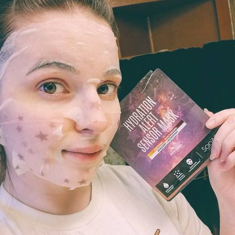 A smartface mask? Is this a th