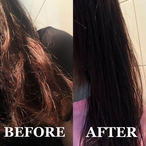 At-home DIY hair mask and here is what happened...😱 | Cherie