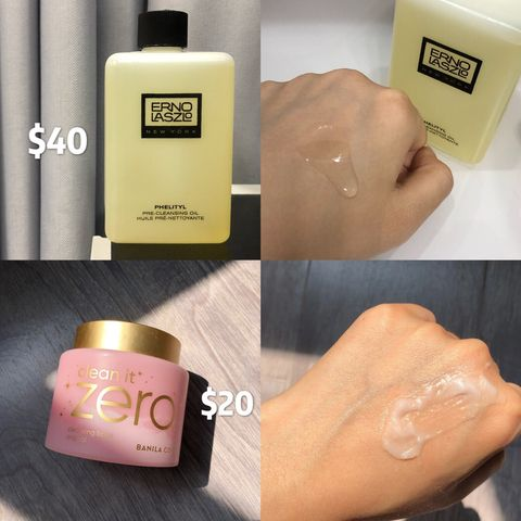 Makeup remover: OIL or CREAM texture?