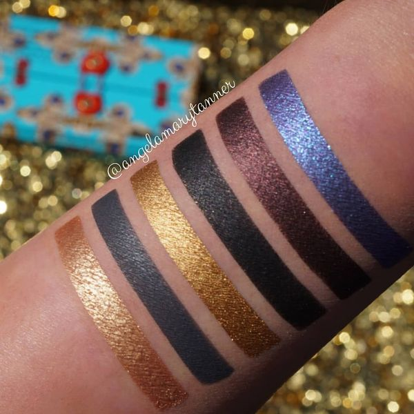 Pat McGrath MTHRSHP Subliminal Dark Star Palette ($55) I realized that I never posted swatches... | Cherie