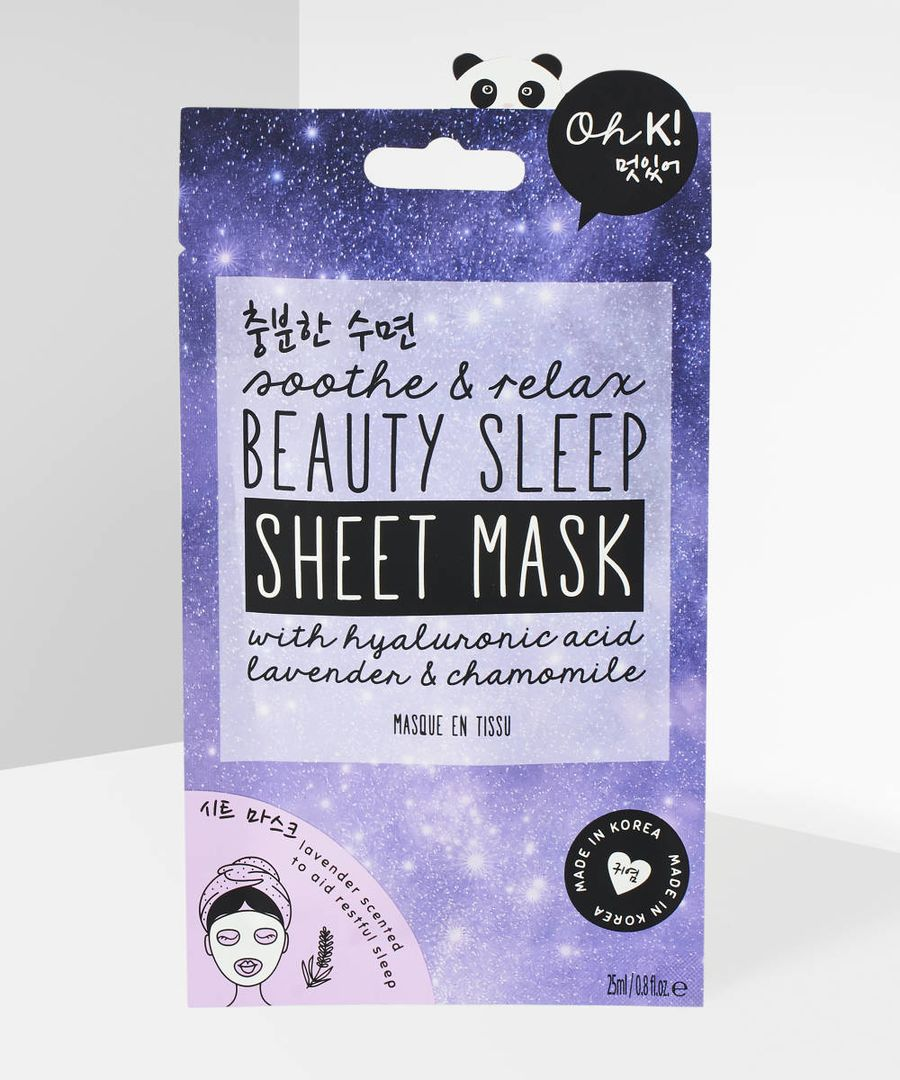 Soothe and Relax Beauty Sleep Sheet Mask