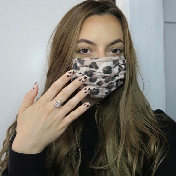MATCH YOUR NAILS TO YOUR MASK 🤦♀️ 🤷🏼♀️ | Cherie