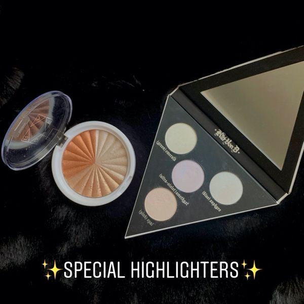 Some special highlighters I love | Cherie