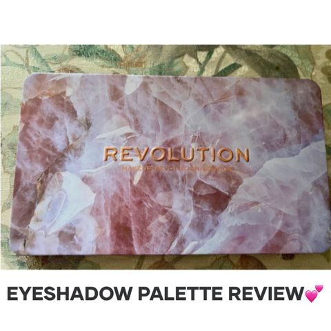 EYESHADOW PALETTE REVIEW