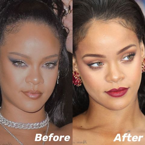 Rihanna's secret, Structured brow does make you more charming!!