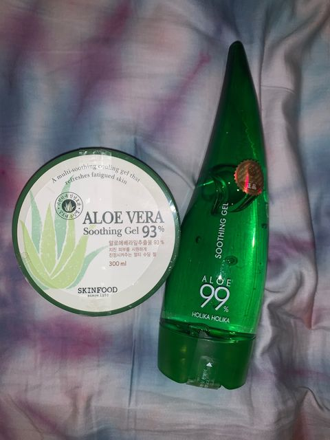 Battle of the Aloe Veras! K beauty skincare