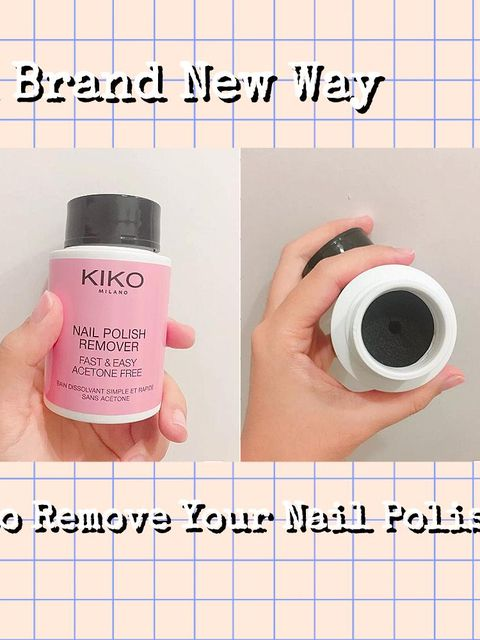 Only 3 steps! A Brand New Way to Remove Nail Polish without hurting!