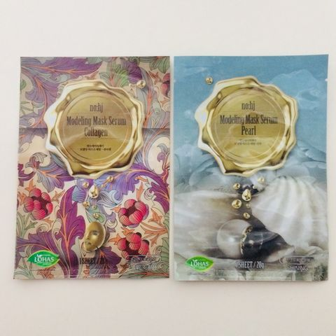 Pretty Pattern Korean Face Masks from no:hj