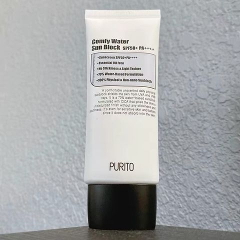 Purito Comfy Water Sunblock -Review-