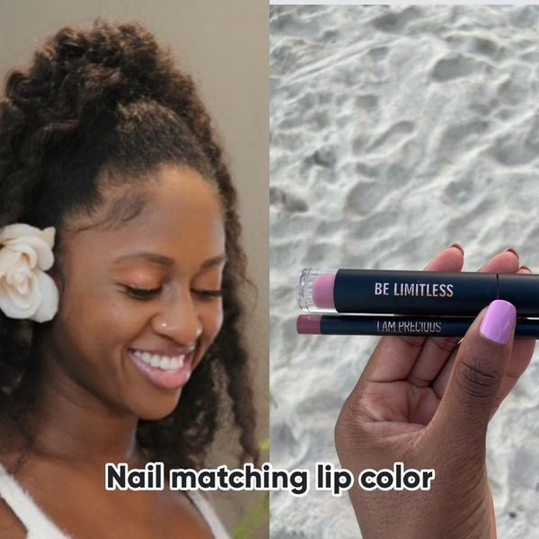 Match your nails and your lip gloss - why not 🤷 | Cherie