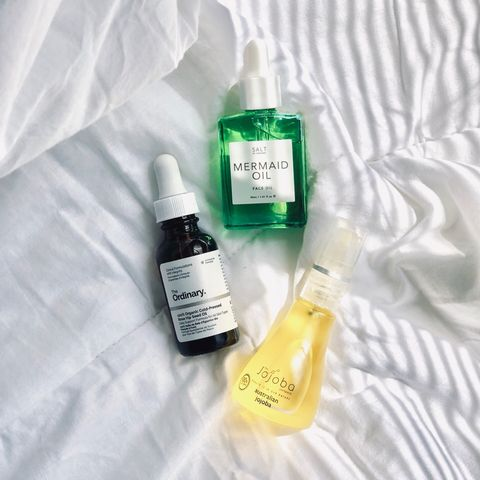 my top three facial oils