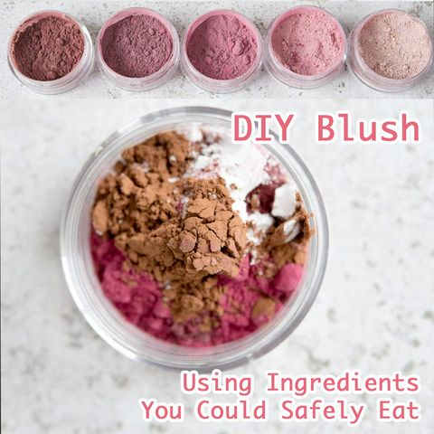 How to Make Your Own Homemade Blush