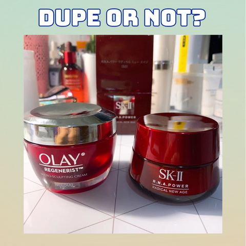 People Told Me Olay Is A Dupe To SKII And I Found...😶😶😶