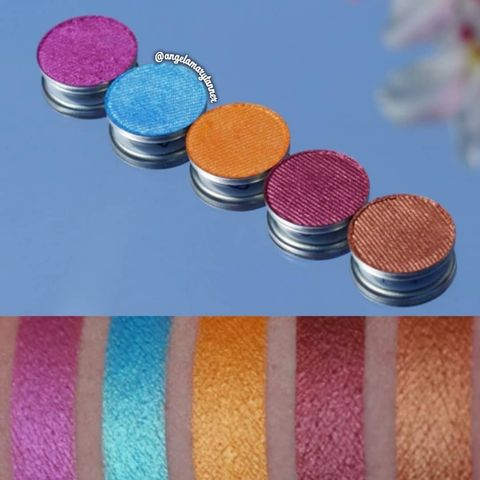 These are the eyeshadows from