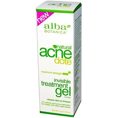Acne Dote, Invisible Treatment Gel, Oil-Free