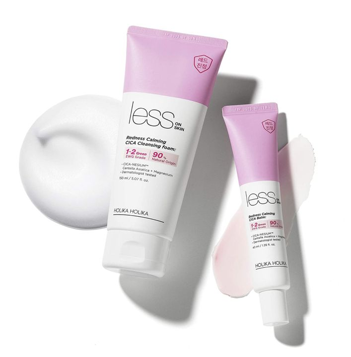 Less on Skin Cica Cleansing Foam