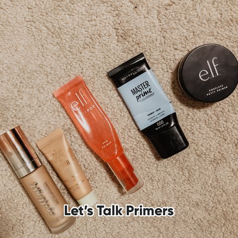 Oily/Combo Friendly Primers!