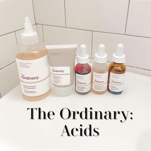 The Ordinary: Direct Acids