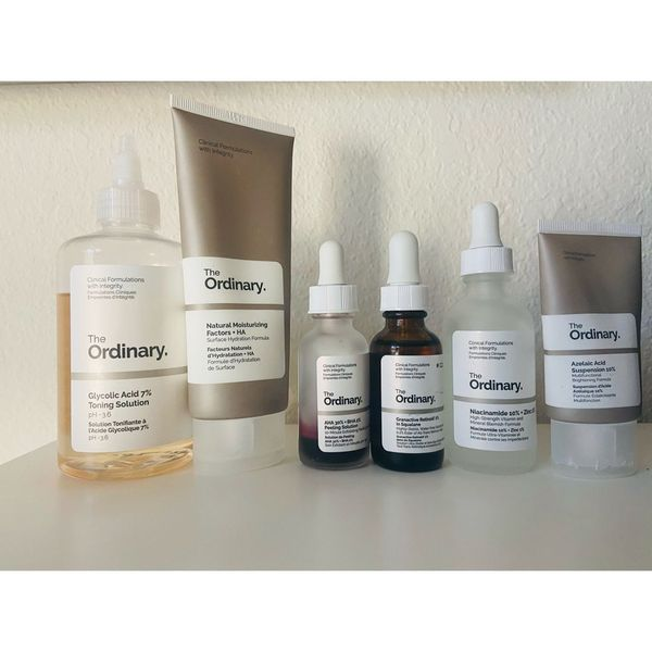 The Ordinary products for acne prone skin✨ | Cherie