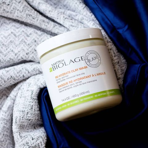 biolage rehydrate clay mask fo