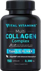 Multi Collagen Complex Type 1 2 3 V and X