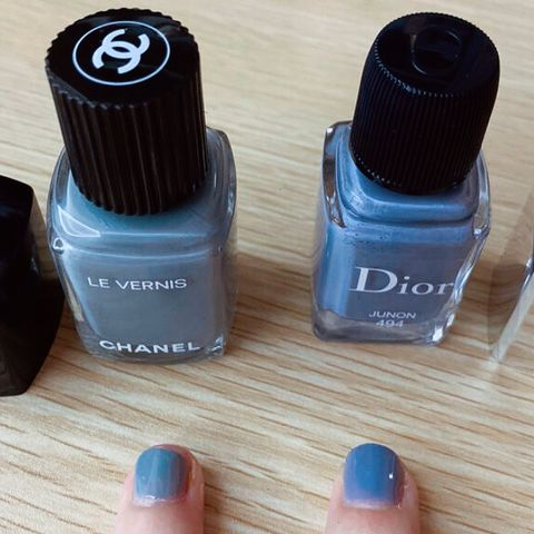 Chanel or Dior?🥇Which nail polish is the winner?