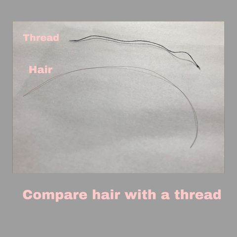 Width Matters Too!!! Determine Your Hair Strand Type