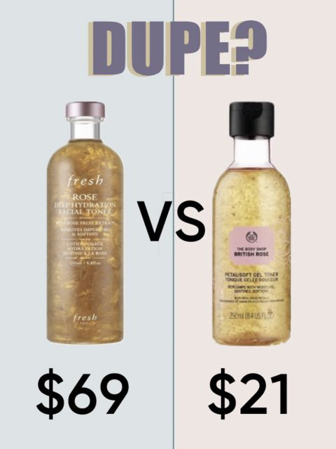 🚨$21 The Body Shop toner dupe of the $69 Fresh