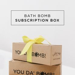 Monthly Bath Bomb Subscription The Tubby Box