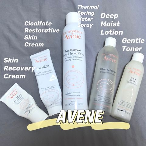 My AVÈNE collection! Must-buy and Black-list