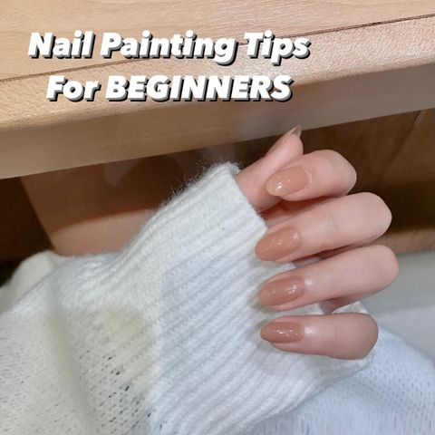 ✨🌈Nail Painting Tips for Beginners 🌈✨