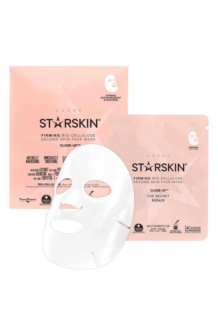 Close-Up Bio-Cellulose Firming Face Mask