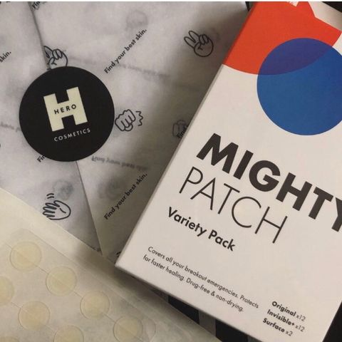 The Mighty Patch variety pack 🖤