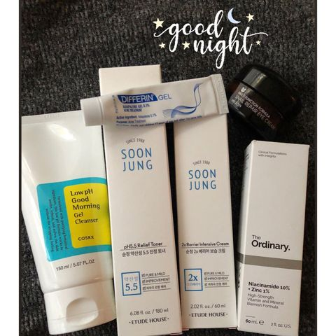 🌜simple night time routine 🌛