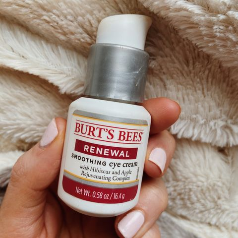 DARK CIRCLES REVIEW | Burt's Bees Renewal